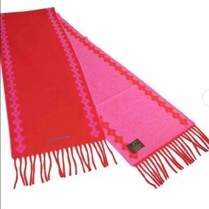 ❤️ Louis Vuitton scarf cashmere red/pink🥰